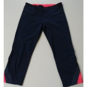 adidas Cropped Active/Workout pants women's size M